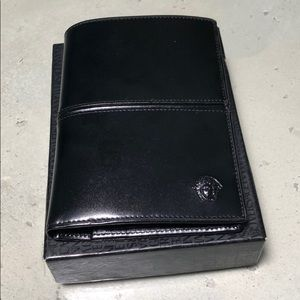 Gianni Versace genuine leather wallet
